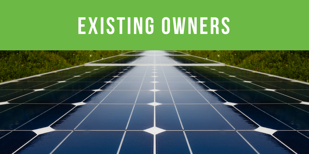 Existing System Owners Perth Solar Warehouse