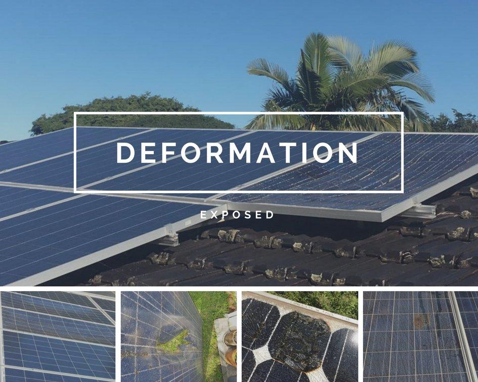 DEFORMATION Tier 1 Solar Panels