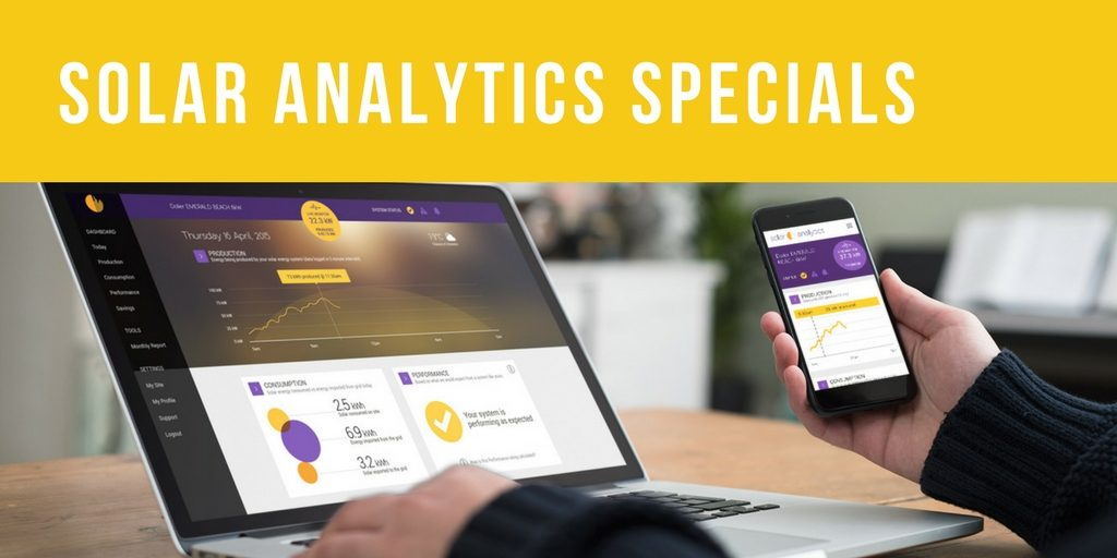 Solar Analytics Specials by Perth Solar Warehouse