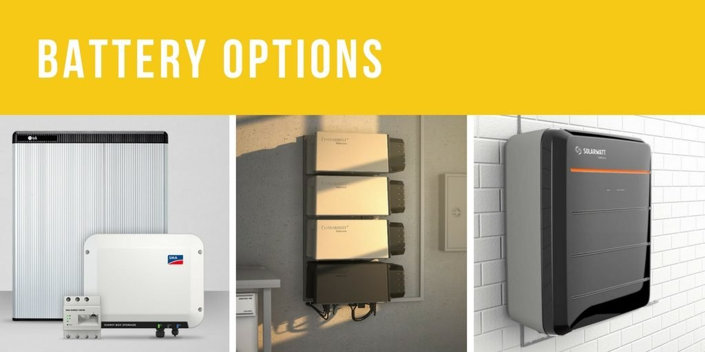 Solar Battery options by Perth Solar Warehouse