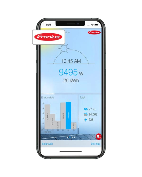 Fronius Smart Meter & Fronius Solar.Web Monitoring Portal