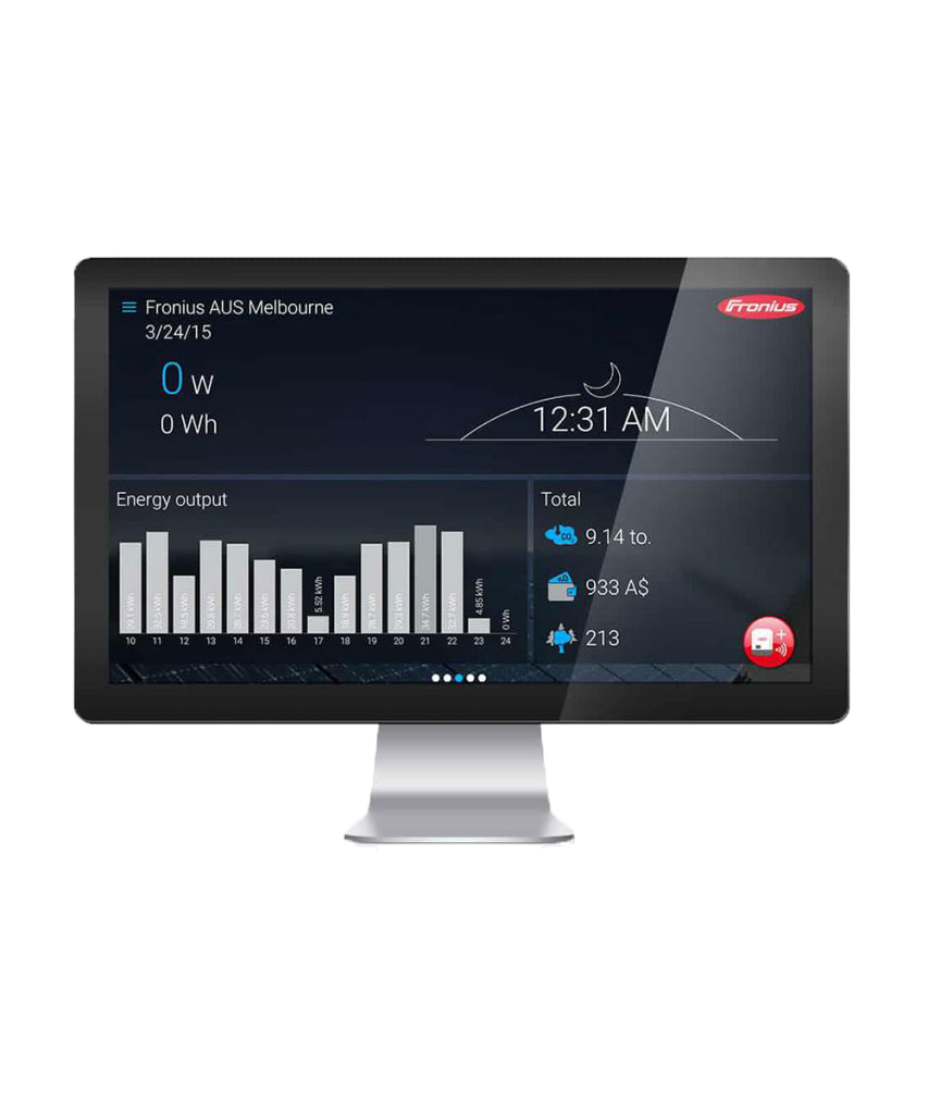 Fronius Solarweb Solar Monitoring by PSW Energy