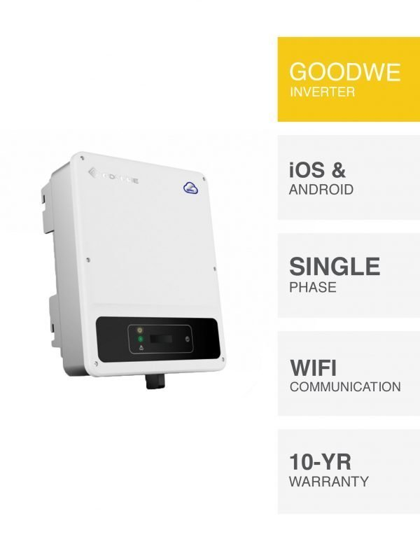 Goodwe DNS Inverter options by PSW Energy