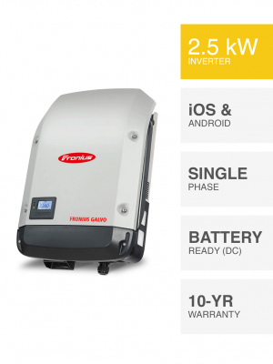 2.5kW Fronius Galvo Inverter