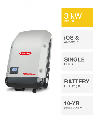 3kW Fronius Primo Inverter
