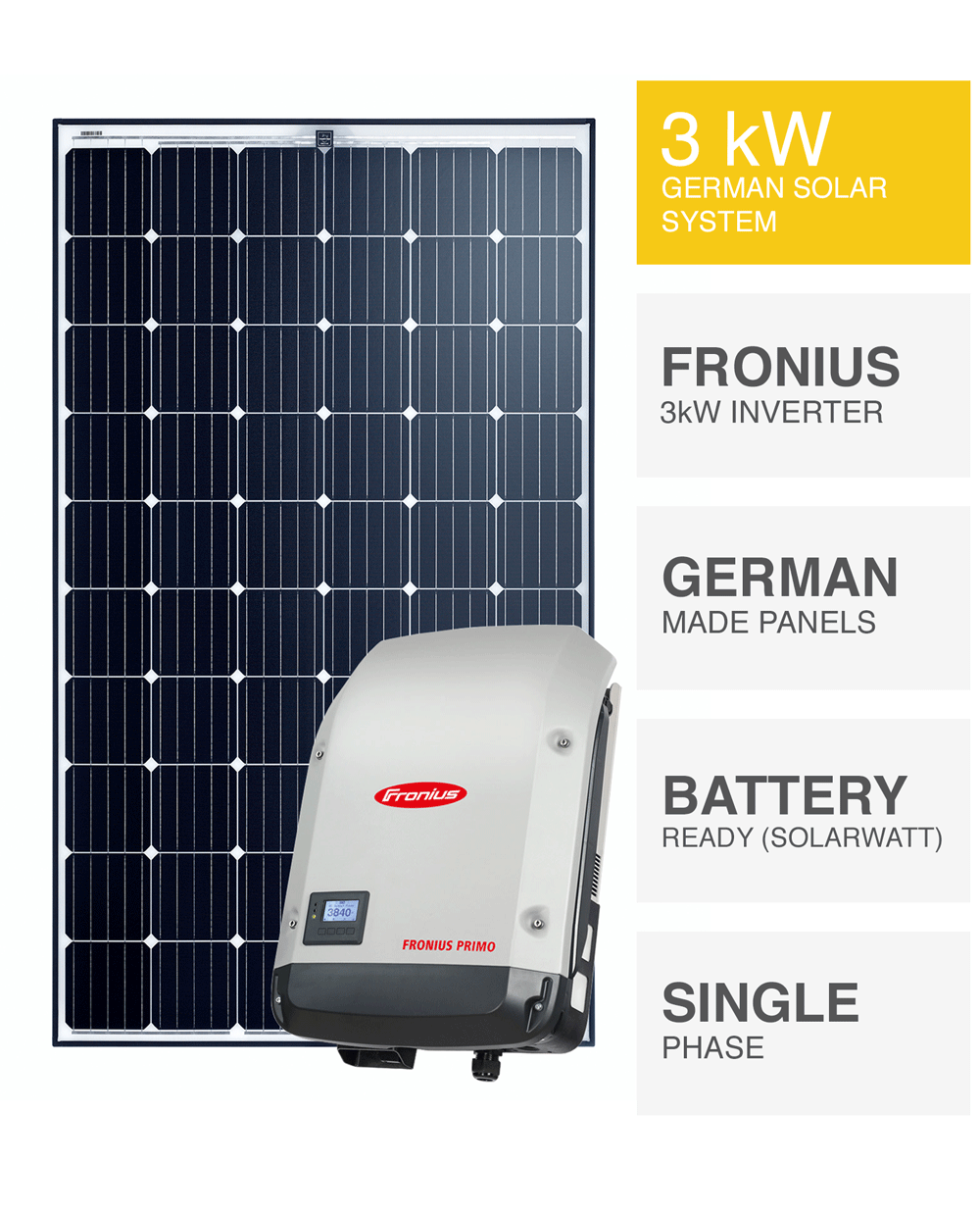 German 3kw Solar System Save More Installed Prices