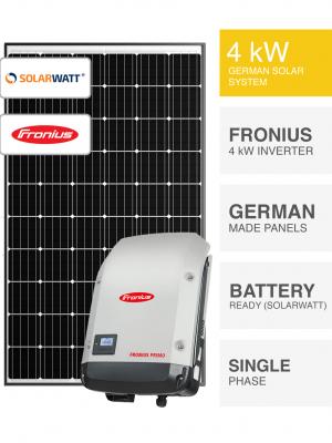 4kW SolarWatt Fronius Solar System