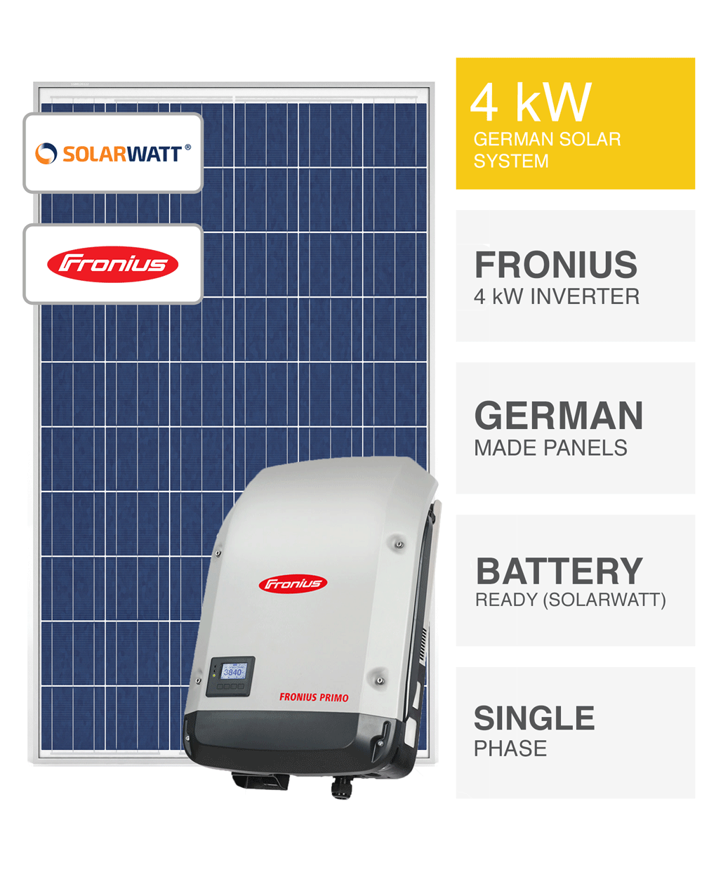 German 4kw Solar System Save More Installed Prices