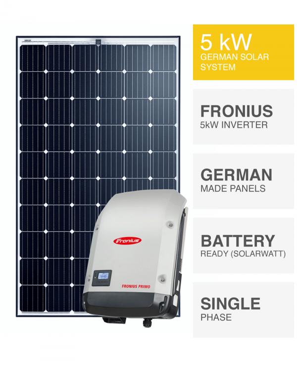 5kW Premium Solar System