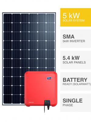 5kW Solar System