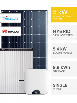 5kW Trina Huawei Solar System