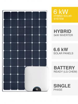 6kW Hybrid Solar System