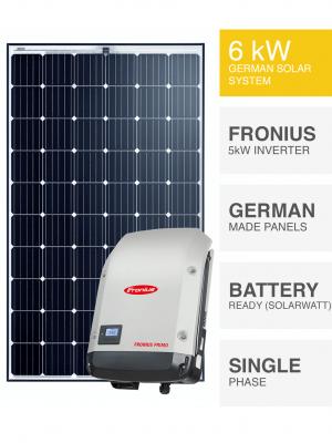 6kW Premium Solar System