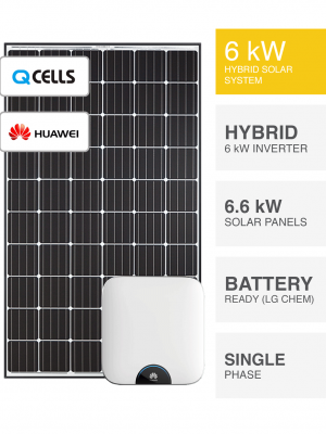 6kW QCell Huawei Solar System