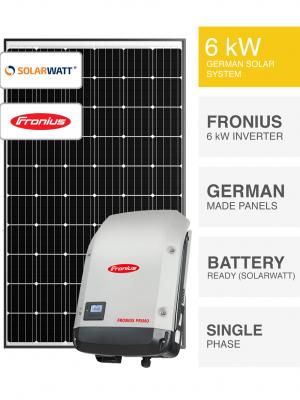 6kW SolarWatt Fronius Solar System