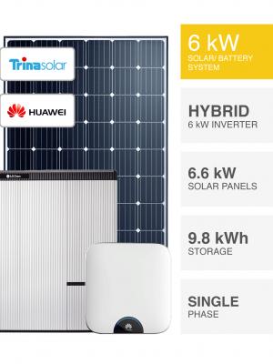 6kW Trina Huawei Solar System