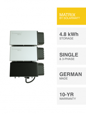 SolarWatt MyReserve Matrix 4.8 kWh Energy Storage