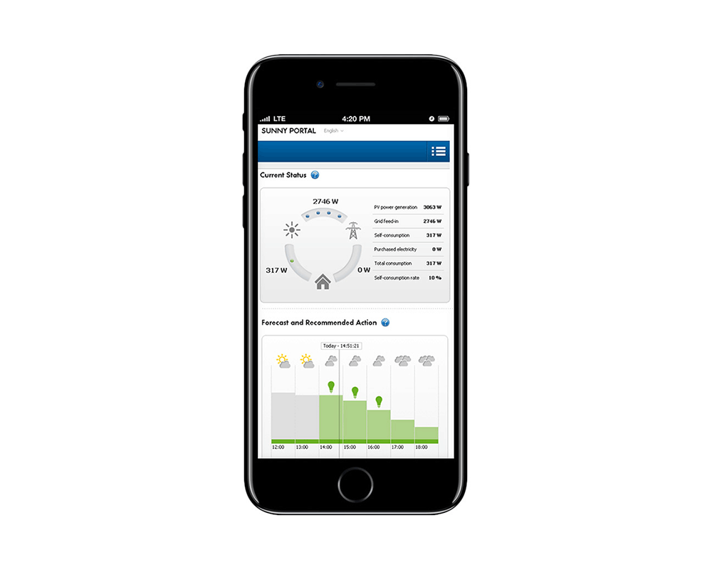 Sunny Portal Mobile App
