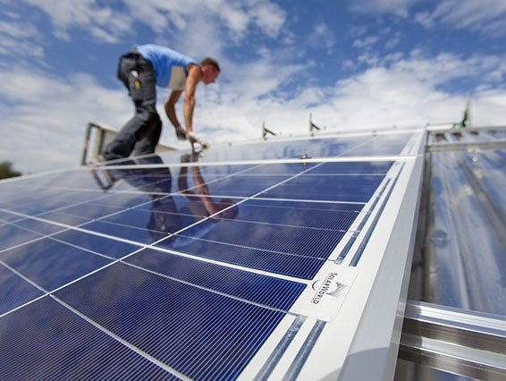 SolarWorld Polycrystalline Solar Panel installers Perth Solar Warehouse