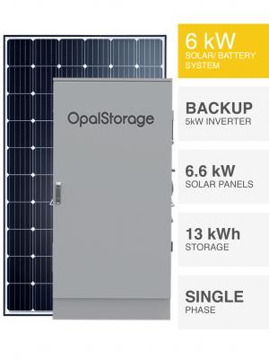 6kW Solar Power Station