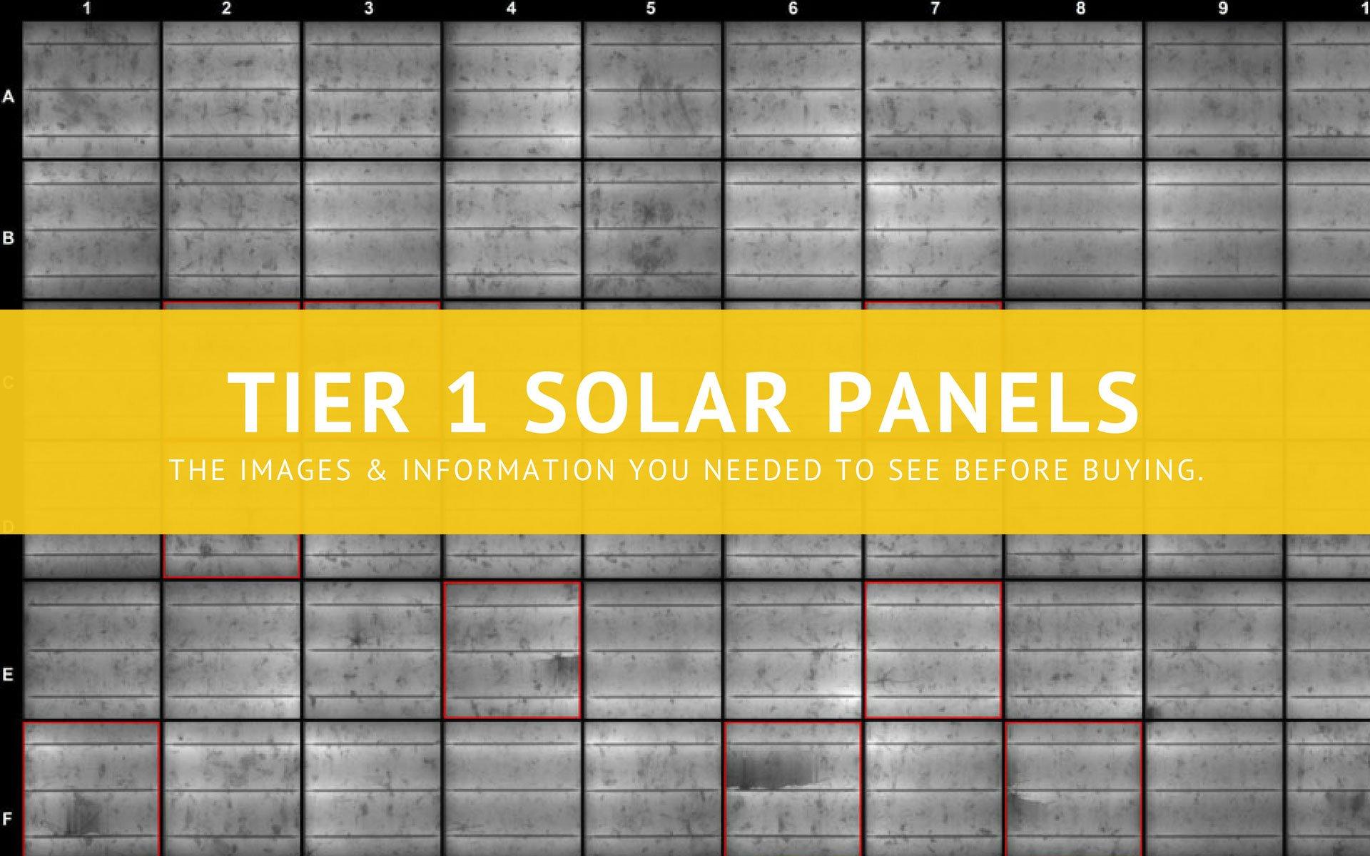 Latest Tier 1 Solar Panels List 2018 8 Points Of Critical