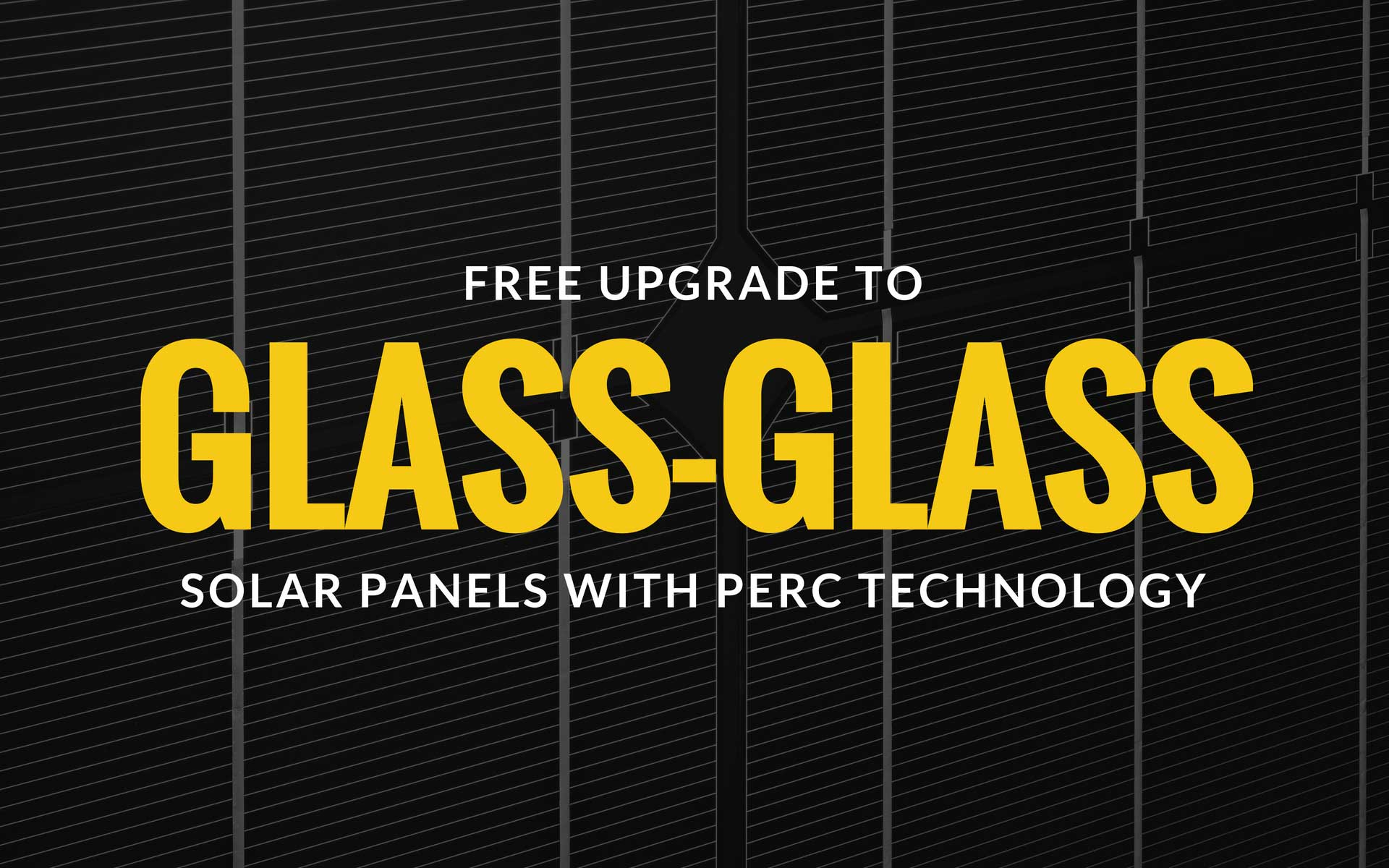 GLASS GLASS SOLAR Panels with PERC technology by Perth Solar Warehouse