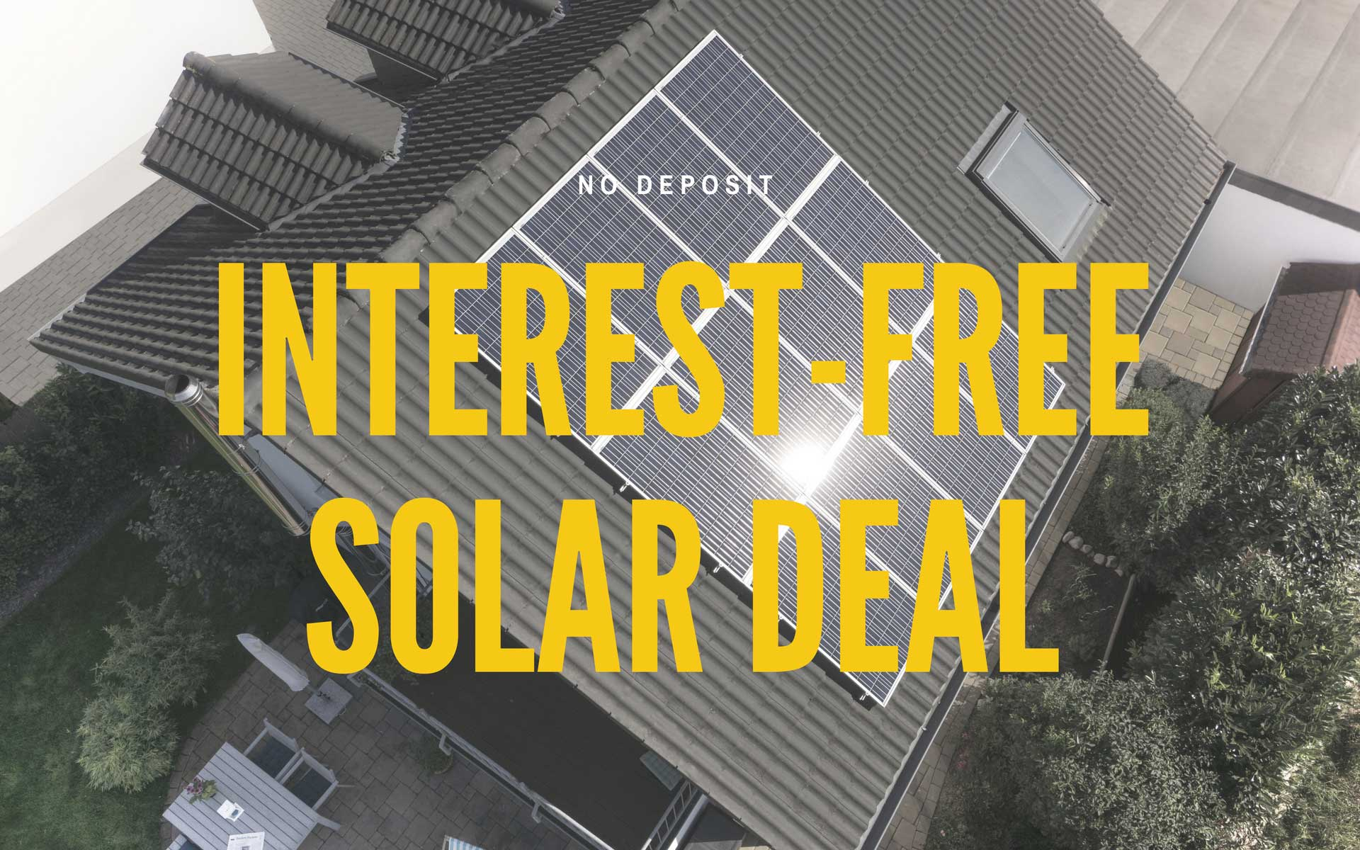 INTEREST FREE SOLAR DEAL from Perth Solar Warehouse