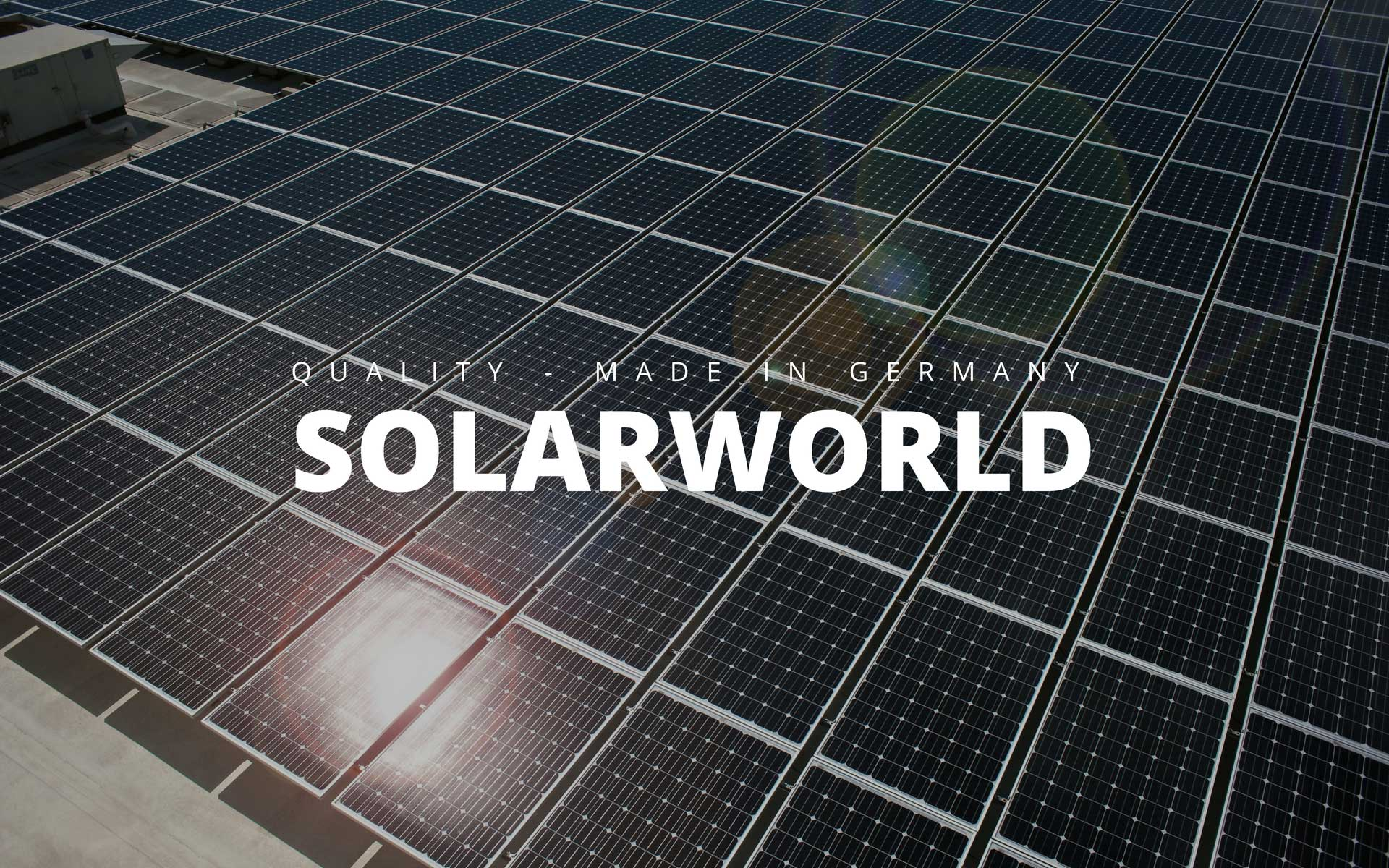 SOLARWORLD - Made in Germany
