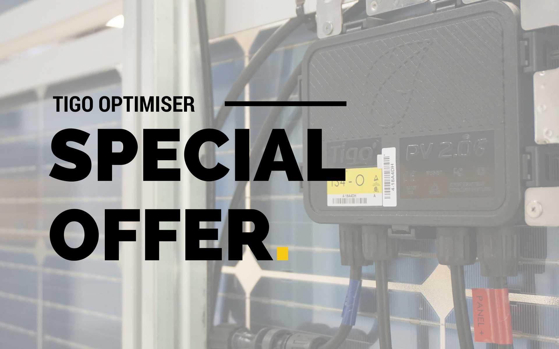 Tigo Optimiser Special Offer By Perth Solar Warehouse