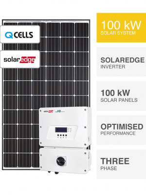 100kW QCells Solaredge Solar System