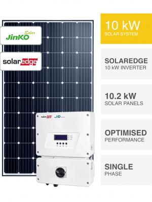 10kW Jinko SolarEdge Solar System