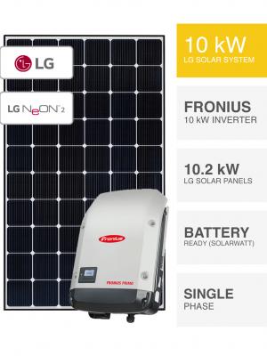 10kW LG Fronius System