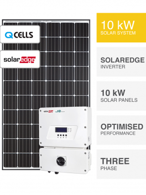 10kW QCells Solaredge Solar System