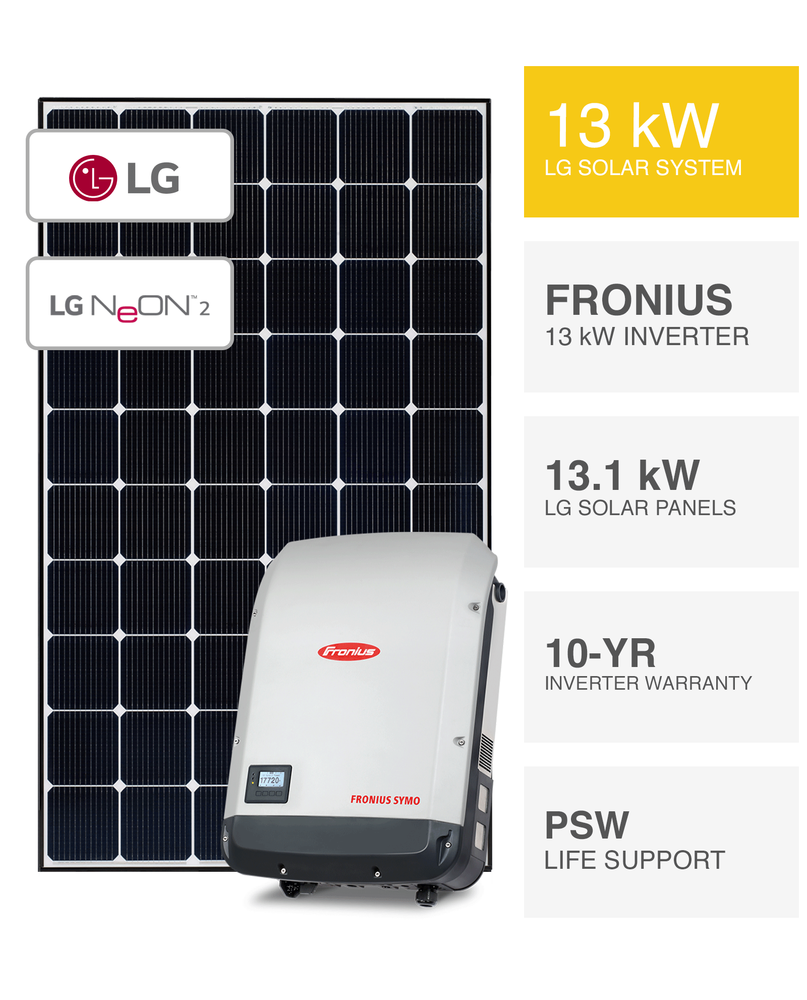 Lg 13kw Solar System Save More Installed Prices Perth Wa