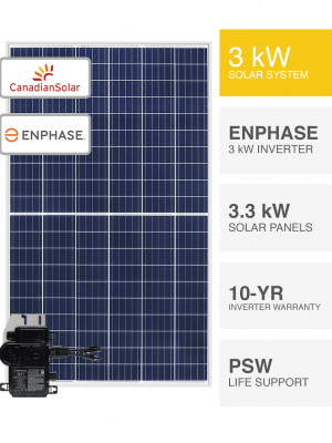 3kW Canadian & Enphase