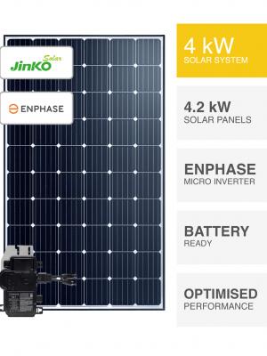 4kW Jinko Enphase Solar System