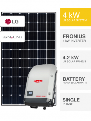 4kW LG Fronius System