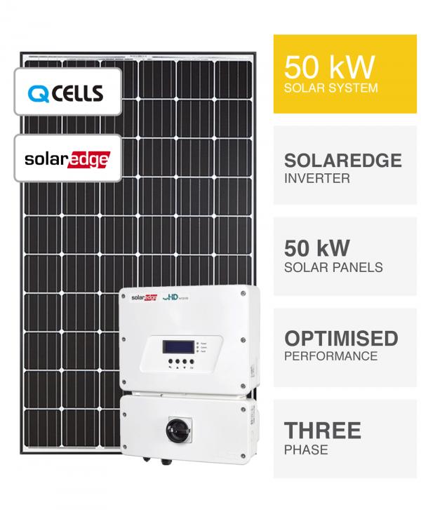 50kW QCells Solaredge Solar System