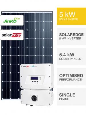 5kW Jinko SolarEdge Solar System