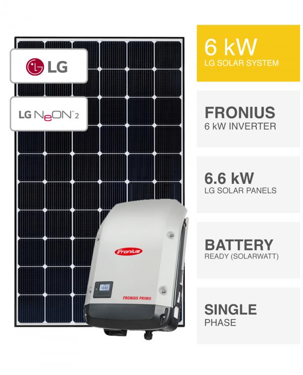 6kW LG Fronius System