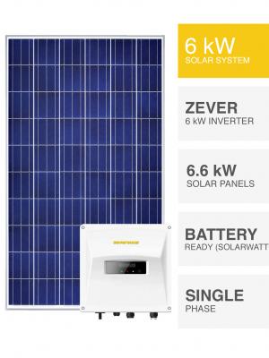 6kW Canadian Solar Battery Ready