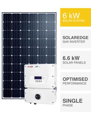 SolarEdge 6kW Solar System