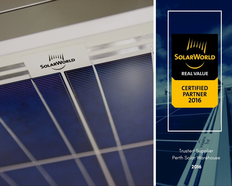 SolarWorld Certified Partner Perth Solar Warehouse
