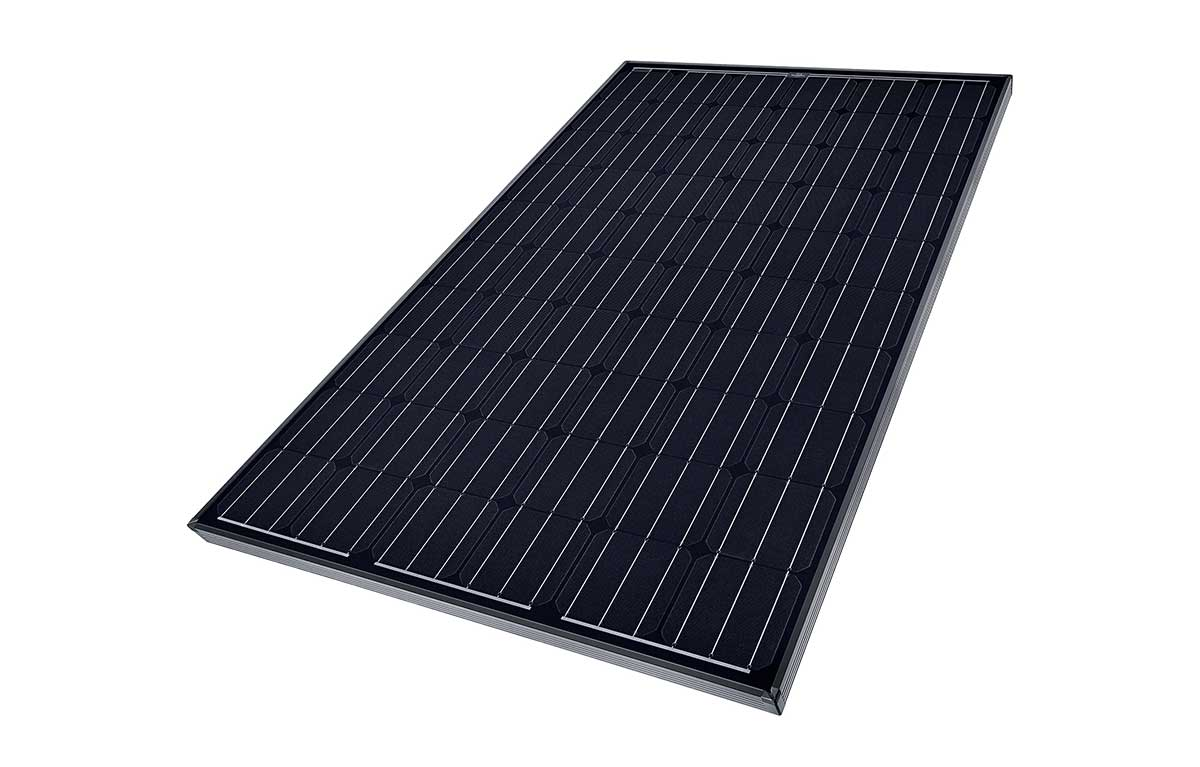 SolarWorld Sunmodule Mono Black solar panels presented by Perth Solar Warehouse