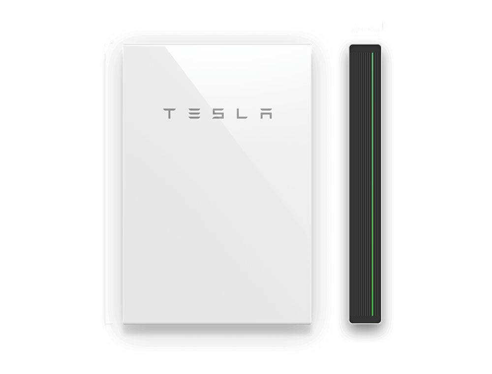 Tesla Powerwall Sideways