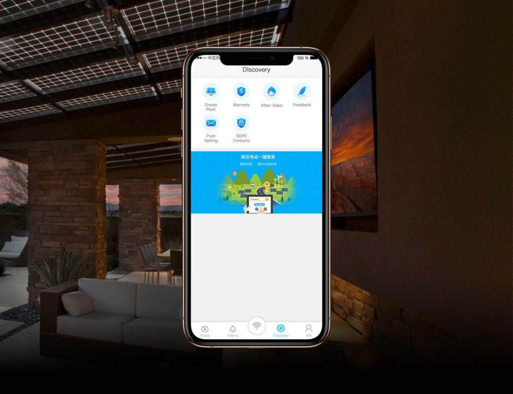 Goodwe DNS Inverter SEMs Portal iPhone App
