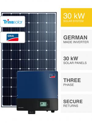 30kW Trina & SMA Solar System