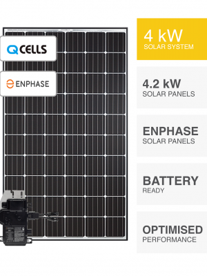 4kW QCells & Enphase Solar System