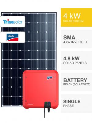 4kW Trina & SMA Solar System