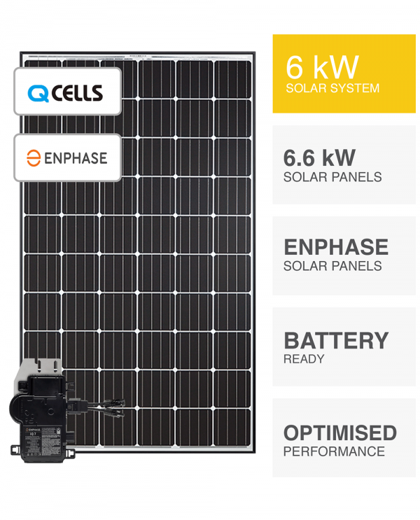 6kW QCells & Enphase Solar System